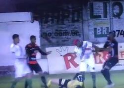 """Braziliyalı futbolçu hakimə hücuma görə həbs olunub - <span class=""""color_red"""">VİDEO</span>"""