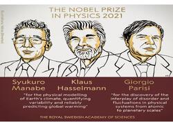 Fizika üzrə Nobel mükafatı qaliblərinin adları açıqlandı