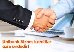 Unibank sahibkarlara verdiyi güzəştli biznes kreditlərinə görə lider banklardandır