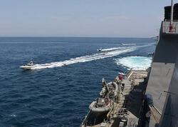İran gəmiləri ABŞ katerini tutmağa çalışıb?- VİDEO