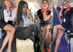 """Styuardessalardan yeni paylaşımlar - <span class=""""color_red"""">FOTOlar</span>"""
