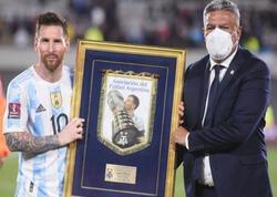 Messidən daha bir rekord: Cənubi Amerikada