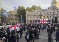 """Tbilisidə Saakaşviliyə azadlıq <span class=""""color_red""""> istənildi</span>"""