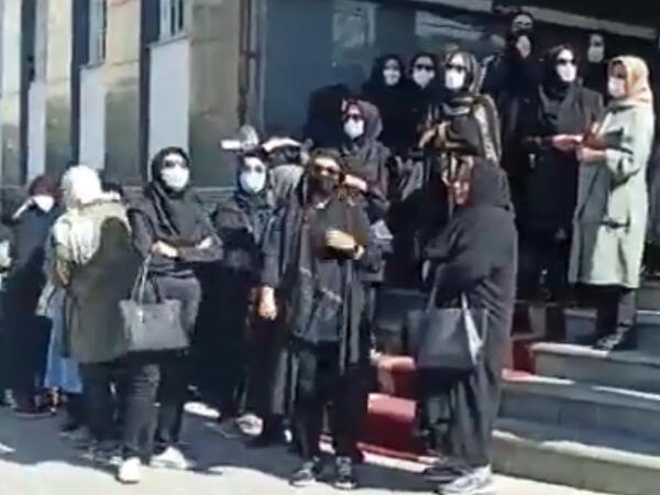 Güney Azərbaycanda müəllimlərin etiraz aksiyaları genişlənir - VİDEO