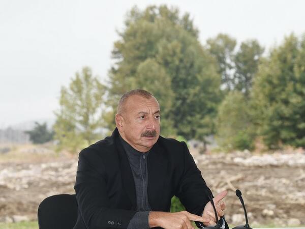 Prezident İlham Əliyev: Mənə güc verən məhz xalqımızın əzmkarlığı idi
