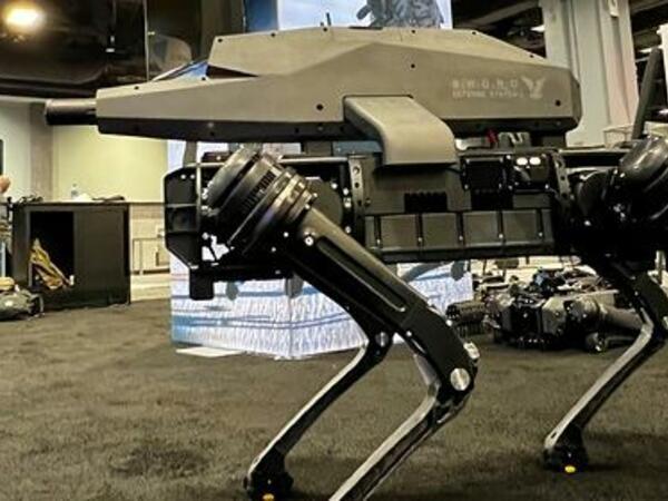 ABŞ-da snayper tüfəngli robot it yaradılıb