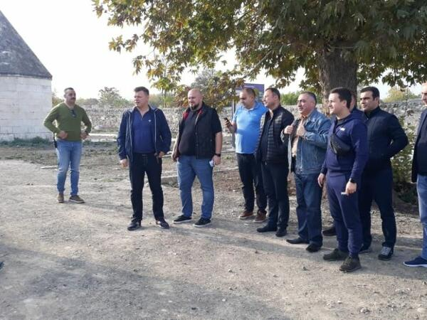 Ukrayna deputatlarının Ağdam şəhərinə səfəri başlayıb