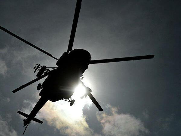 Almaniyada helikopter qəzaya uğrayıb