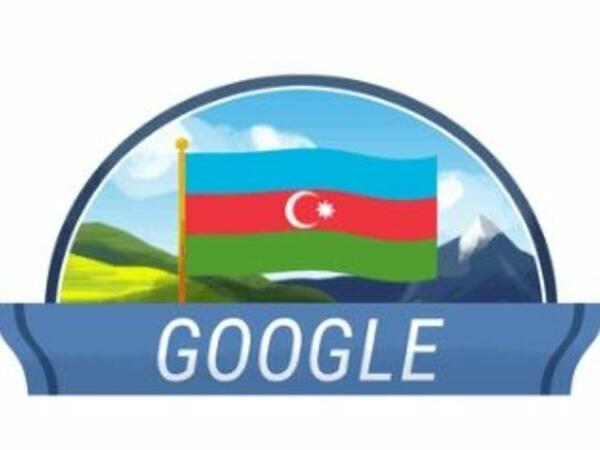 """""""Google"""" Azərbaycanın Müstəqilliyinin Bərpası Gününə """"dudl"""" həsr edib"""