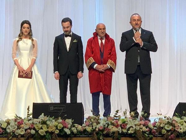 Çavuşoğlu qızına toy etdi - FOTO