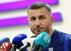 """Qurban Qurbanov: """"Qarşıdakı 3 oyundakı hədəfimiz 9 xaldır"""""""