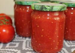 Pomidor Püresi Hazırlanması - VİDEO