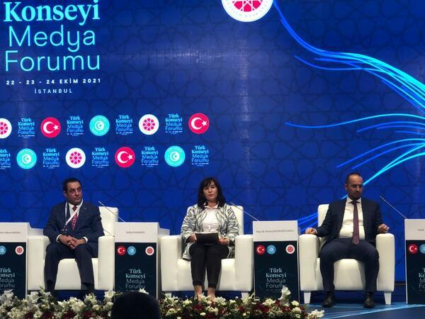 Türk Dünyası (turkic.world) layihəsi İstanbulda keçirilən Türk Şurasının Media forumunda təqdim olundu - FOTO
