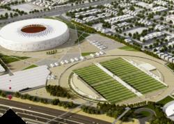 """Qətərdə """"Əl-Tumama"""" stadionu açılıb"""