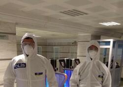 Bakı metrosunda koronavirus xəstəsi saxlandı - FOTO