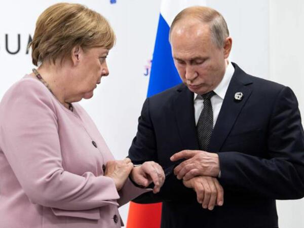"""Merkel: """"2001-ci ildən Putinlə aramızda ciddi fikir ayrılıqları var"""""""