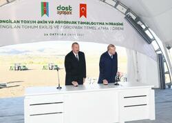 """&quot;Dost Aqropark&quot; Azərbaycan və Türkiyənin qida təhlükəsizliyinə <span class=""""color_red""""> töhfə verəcək</span>"""