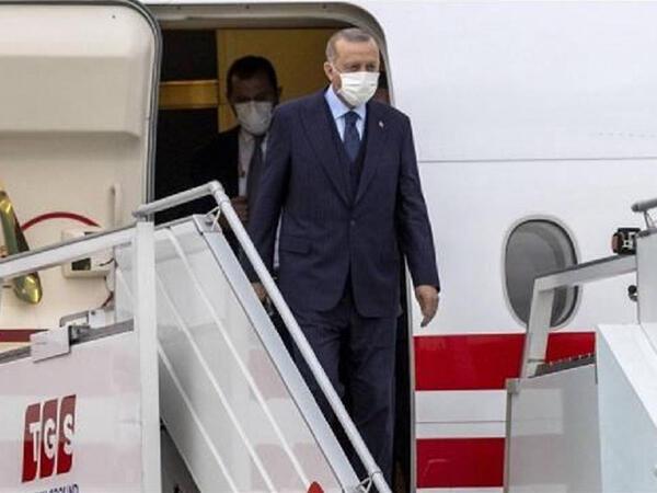 Türkiyə Prezidenti Azərbaycana yola düşüb