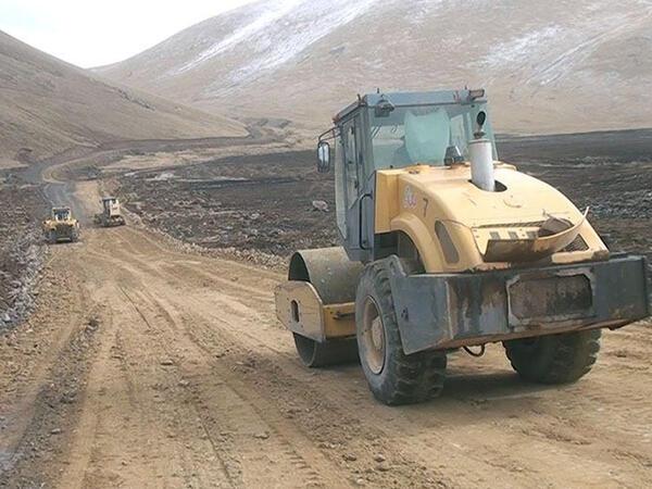 Azad edilən ərazilərdə mühəndis işləri davam etdirilir - VİDEO - FOTO
