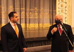 Nazir müavini Akademik Musiqili Teatrın kollektivi ilə görüşdü - FOTO