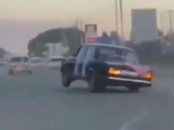 Toy karvanında avtoxuliqanlıq edən sürücü həbs edilib