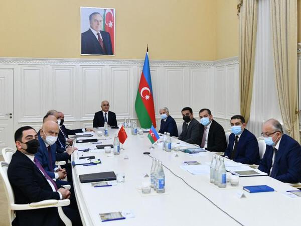 Azərbaycan-Çin hökumətlərarası komissiyasının videokonfrans formatında iclası keçirilib - FOTO